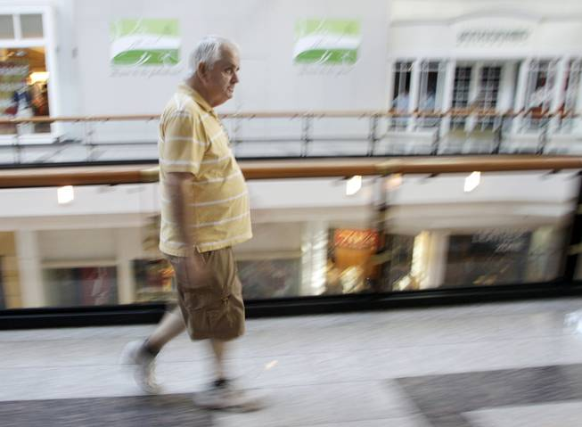 Dirty Old Mall Walker