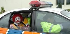 through the McDonald's window