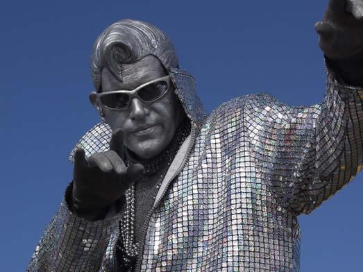 Silver Elvis