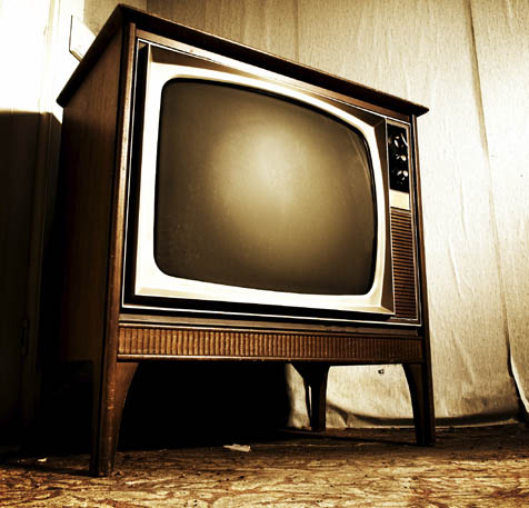 WATCHING THE TELEVISION WATCH BACK