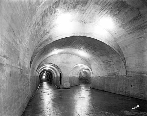 First tunnel